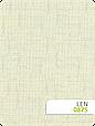 Рулонні штори Льон 875 молочний, фото 2