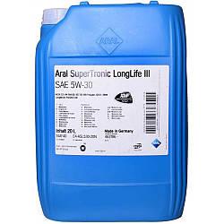 Моторне масло Aral SuperTronic LongLife III 5W-30 20л