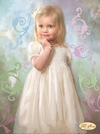 """Рисунок на ткани для вышивания бисером """"Малышка"""", фото 2"""