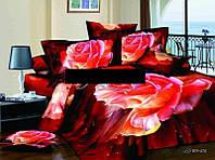Комплект постельного белья из сатина.