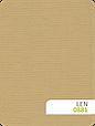 Рулонные шторы цвет Лен 881 кофе с молоком, фото 2