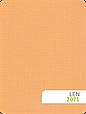 Тканинні ролети Льон 2071 персиково-помаранчевий, фото 2
