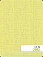 Рулонні штори Льон 2072 жовтий, фото 2