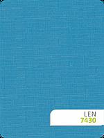 Рулонные шторы Len 7430 лазурь