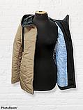 Жіноча універсальна демісезонна куртка Дн-6, бежева, фото 4