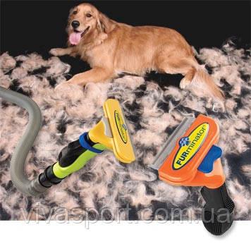 Фурминатор для вычесывания шерсти животных Furminator deShedding tool (Фурминатор Дешединг Тул) лезвие 6,5 см