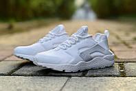 Женские кроссовки Nike Huarache Ultra белые