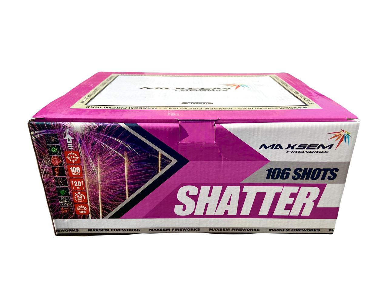 Салют Shatter Maxsem MC126, 106 пострілів 20 мм
