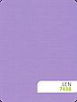 Рулонні штори Льон 7438 бузковий, фото 2