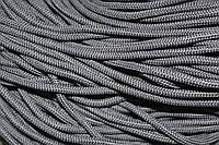 Шнур 5мм  с наполнителем (200м) т. серый