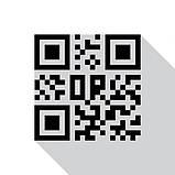 Металева Instagram-візитка з QR-кодом 200х200мм виготовимо за 1 годину, фото 3
