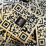 Металева Instagram-візитка з QR-кодом 200х200мм виготовимо за 1 годину, фото 5