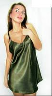 Ночная сорочка, рубашка, пеньюар. Материал атлас. Размеры 40 - 48. Опт и розница в Украине.