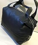 Жіноча міська універсальна сумка Prada зі штучної шкіри 32*48 см, пудра, фото 2