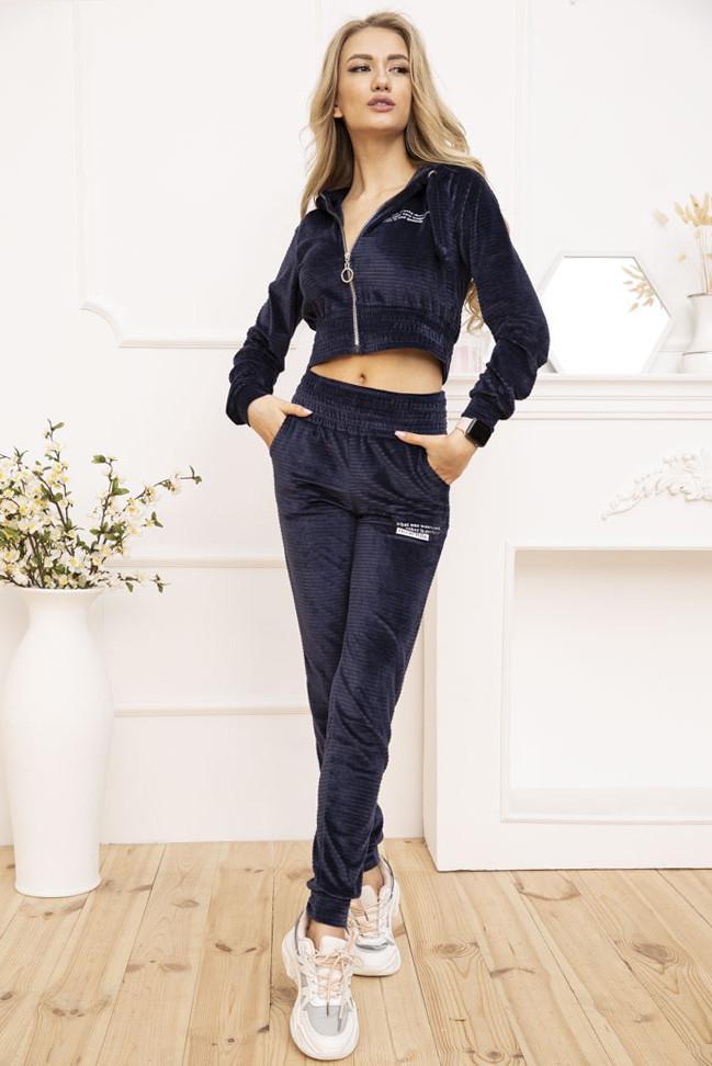 Спорт костюм жіночий 119R356 колір Темно-синій