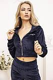Спорт костюм жіночий 119R356 колір Темно-синій, фото 4