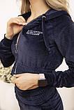 Спорт костюм жіночий 119R356 колір Темно-синій, фото 6