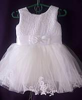 Дитяча сукня для дівчинки з фатином 1-1,5 року, мерехтливої кольору