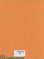 Рулонные шторы ткань Марсель 606 оранжевый