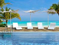 Зонт Vela для бассейна, террасы и летних площадок.