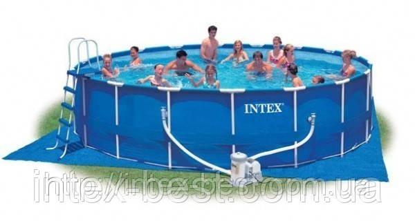 Каркасный бассейн Intex 56952 Metal Frame Pool (549х122 см.)