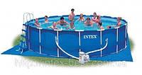 Каркасный бассейн Intex 56952 Metal Frame Pool (549х122 см.), фото 1