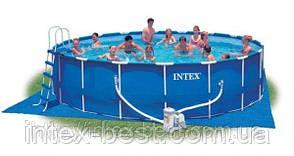 Каркасный бассейн Intex 56952 Metal Frame Pool (549х122 см.), фото 2