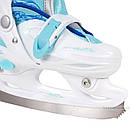 Коньки ледовые фигурные регулируемые SMJ DRAGON GIRL, фото 3