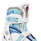Коньки ледовые фигурные регулируемые SMJ DRAGON GIRL, фото 4