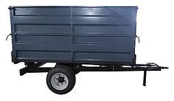 Тракторный полуприцеп Старконь 2720*1720*1200 с колесами и гидравликой (2700 кг)