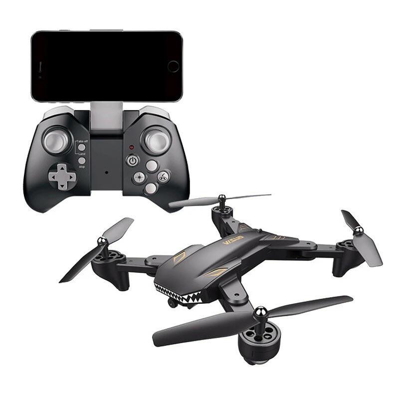 Квадрокоптер Visuo XS816 з камерою 4K, до 20 хв. польоту (Сірий)