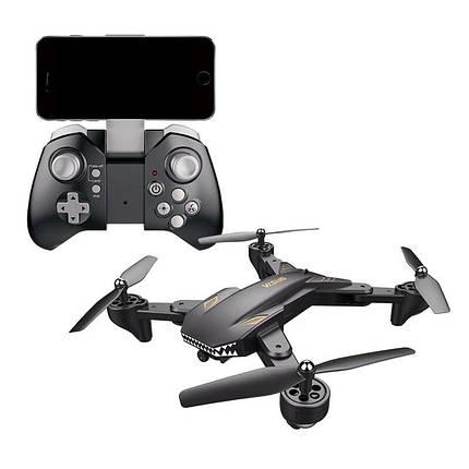 Квадрокоптер Visuo XS816 з камерою 4K, до 20 хв. польоту (Сірий), фото 2