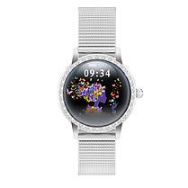 Розумні годинник Linwear LW20 Metal з тонометром (Сріблястий), фото 3