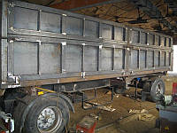 Изготовление кузова фургона