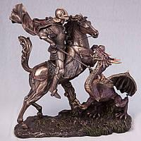Скульптура Veronese Георгий Победоносец 34 см 73533