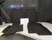 Резиновые коврики в салон для Mazda 6