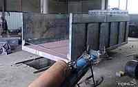 Переоборудование полуприцепа штора в зерновоз