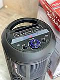 Колонка аккумуляторная KIMISO QS-А283 c микрофоном (100W/USB/BT/FM/TWS), фото 2