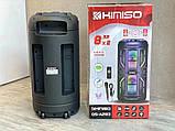 Колонка аккумуляторная KIMISO QS-А283 c микрофоном (100W/USB/BT/FM/TWS), фото 3