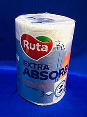 Рушники паперові Ruta Selecta Mega roll 1рул 3ш білі