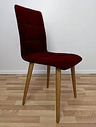 """Мягкий стул для кафе """"Лайт"""" бордовый"""