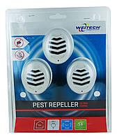 Відлякувач мишей та повзаючих комах Weitech WK3523 (3 шт. в упаковці) , (Бельгія)