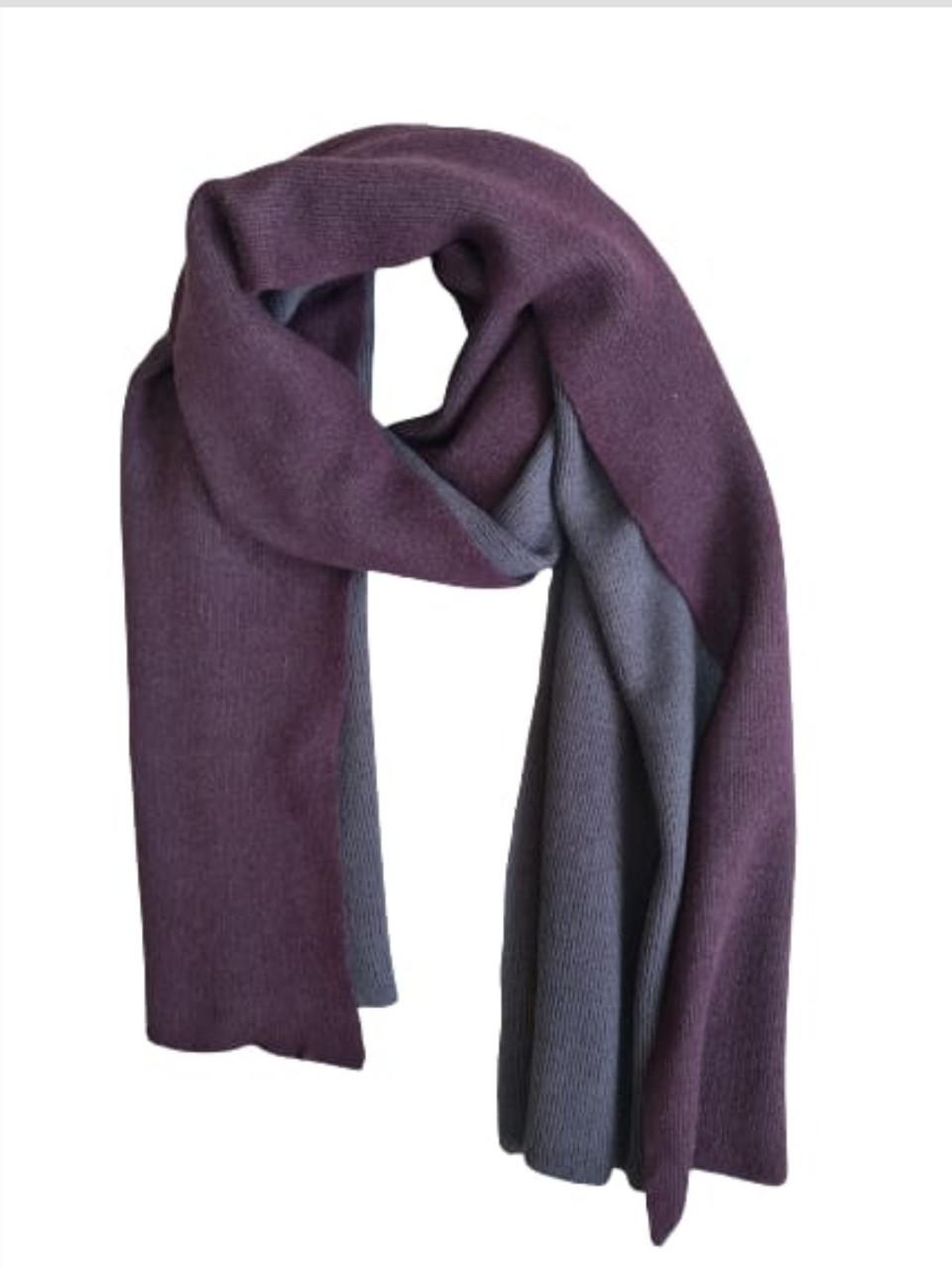 Двосторонній шарф Chadrin з кашеміру