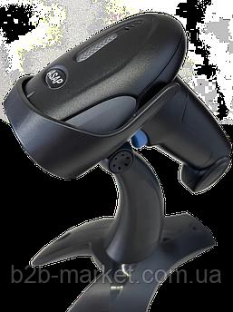 Проводной 1D сканер штрих-кода ASAP POS E10 (USB) + подставка