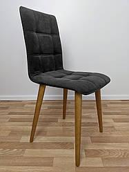"Мягкий стул для кафе ""Лайт"" серый"