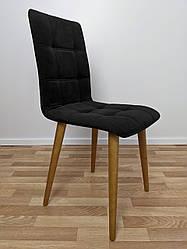 """Мягкий стул для кафе """"Лайт"""" черный"""