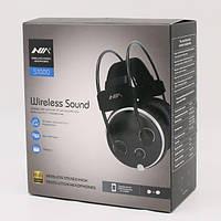 Бездротові навушники НЯ S1000 (Hi-Fi, Bluetooth, SDcard, FM Radio)
