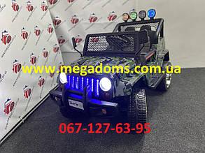 Джип детский M 3237EBLR-18 камуфляж 4 мотора по 45W, 2 аккум 12V/7AH до 30кг в наличии Днепр