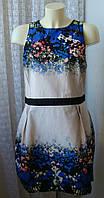 Платье женское летнее нарядное хлопок мини батал бренд Atmosphere р.54 5050