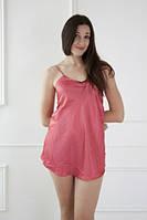 Красивый нежный шелковый пеньюар, ночная сорочка, рубашка,размеры 42-48. Опт и розница в Украине.